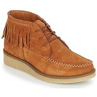 鞋子 女士 短筒靴 André TANVI 棕色