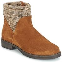 鞋子 女士 短筒靴 André TRIAL 棕色
