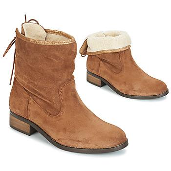 鞋子 女士 短筒靴 André TELEX 棕色