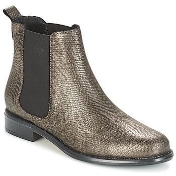 鞋子 女士 短筒靴 André CARAMEL 古銅色