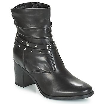 鞋子 女士 短筒靴 André TOCSIN 黑色