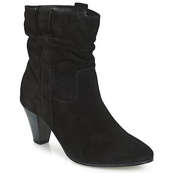 鞋子 女士 短筒靴 André FANFAN 黑色