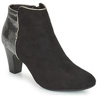 鞋子 女士 短筒靴 André FLORIE 黑色