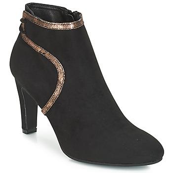 鞋子 女士 短靴 André AUREL 黑色