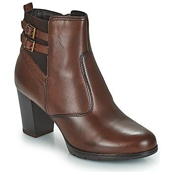 鞋子 女士 短筒靴 André CARACAL 棕色