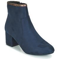 鞋子 女士 短筒靴 André FALOU 蓝色