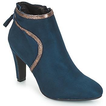 鞋子 女士 短靴 André AUREL 蓝色