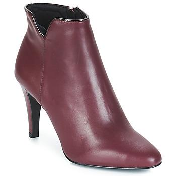 鞋子 女士 短靴 André FARA 波尔多红