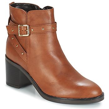 鞋子 女士 短靴 André FRENCHY 棕色