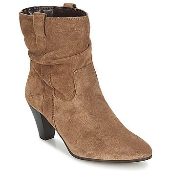 鞋子 女士 短靴 André FANFAN 米色