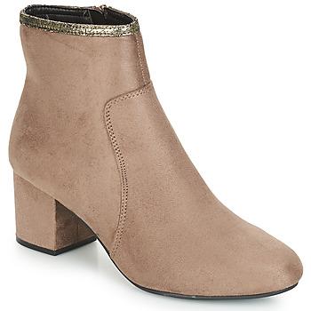 鞋子 女士 短筒靴 André FALOU 米色
