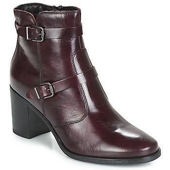 鞋子 女士 短筒靴 André TORI 波尔多红