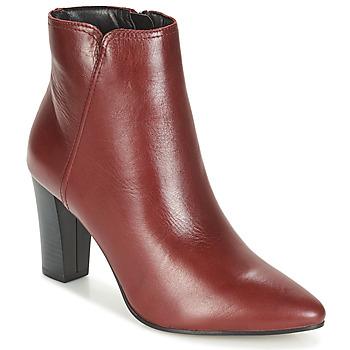 鞋子 女士 短筒靴 André FAST 波尔多红