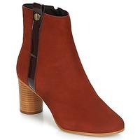 鞋子 女士 短靴 André FILO 红色