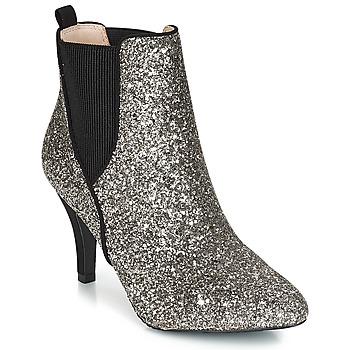 鞋子 女士 短靴 André APRIL 銀灰色