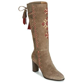 鞋子 女士 都市靴 André TATIANA 米色