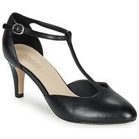 鞋子 女士 高跟鞋 André FALBALA 黑色
