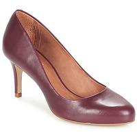 鞋子 女士 高跟鞋 André FLAVIE 波尔多红