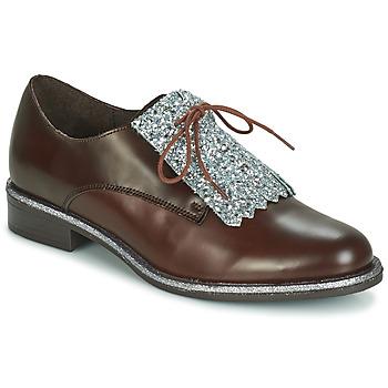鞋子 女士 德比 André FATOU 棕色