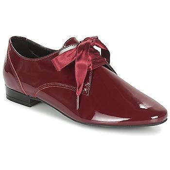鞋子 女士 德比 André GOURMANDISE 波尔多红