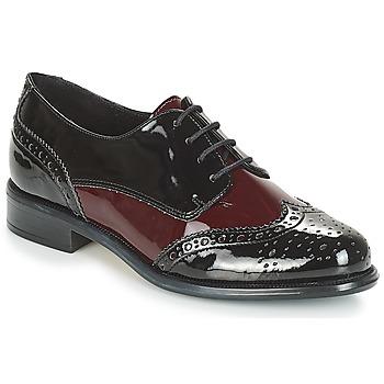 鞋子 女士 德比 André FRAC 波尔多红