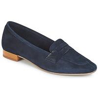鞋子 女士 皮便鞋 André NAMOURS 海蓝色