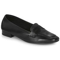 鞋子 女士 皮便鞋 André NAMOURS 黑色