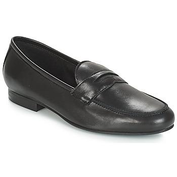 鞋子 女士 皮便鞋 André TIM 黑色