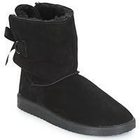 鞋子 女士 短筒靴 André TOUDOU 黑色