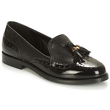 鞋子 女士 皮便鞋 André PELICAN 黑色