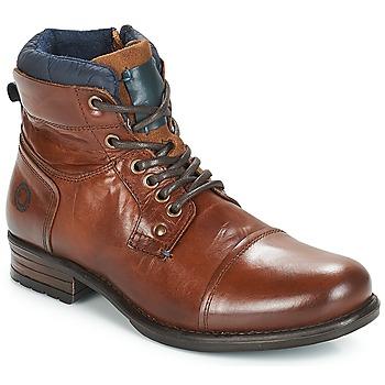 鞋子 男士 短筒靴 André SACLAY 棕色