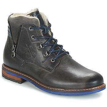 鞋子 男士 短筒靴 André GUINEE 黑色