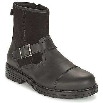 鞋子 男士 短筒靴 André CAVALIER 黑色