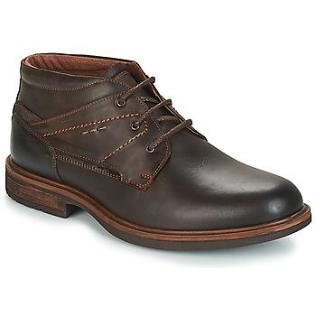 鞋子 男士 短筒靴 André TYROL 棕色