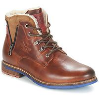 鞋子 男士 短筒靴 André GUINEE 棕色