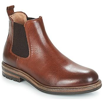 鞋子 男士 短筒靴 André SOPRANO 棕色