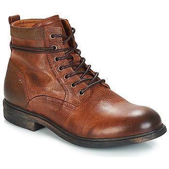 鞋子 男士 短筒靴 André TREVOR 棕色