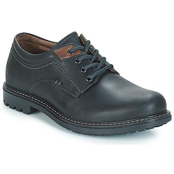鞋子 男士 德比 André BOULON 黑色