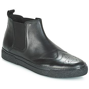 鞋子 男士 短筒靴 André OASIS 黑色