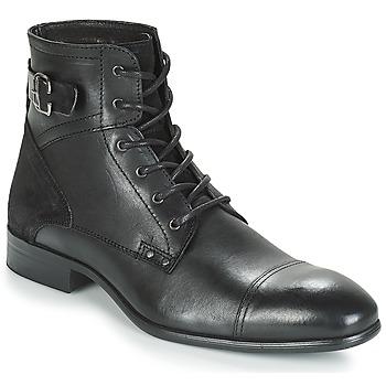 鞋子 男士 短筒靴 André PHILIPPE 黑色