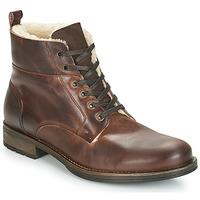 鞋子 男士 短筒靴 André MONTAGNARD 棕色