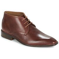 鞋子 男士 系带短筒靴 André PIO 棕色