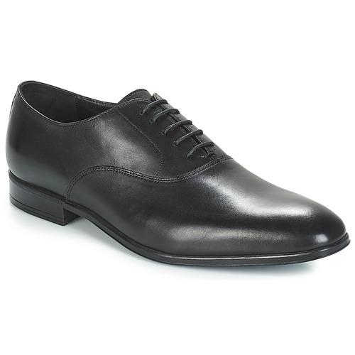 鞋子 男士 系带短筒靴 André PALERMO 黑色