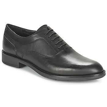 鞋子 男士 系带短筒靴 André LORETO 黑色