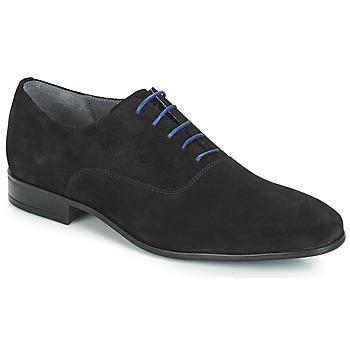 鞋子 男士 系帶短筒靴 André BRINDISI 黑色