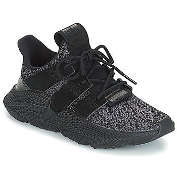 鞋子 儿童 球鞋基本款 Adidas Originals 阿迪达斯三叶草 PROPHERE J 黑色