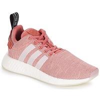 鞋子 女士 球鞋基本款 Adidas Originals 阿迪达斯三叶草 NMD R2 W 玫瑰色