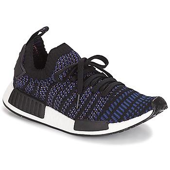 鞋子 女士 球鞋基本款 Adidas Originals 阿迪达斯三叶草 NMD R1 STLT PK W 黑色