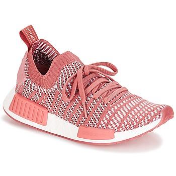 鞋子 女士 球鞋基本款 Adidas Originals 阿迪达斯三叶草 NMD R1 STLT PK W 玫瑰色