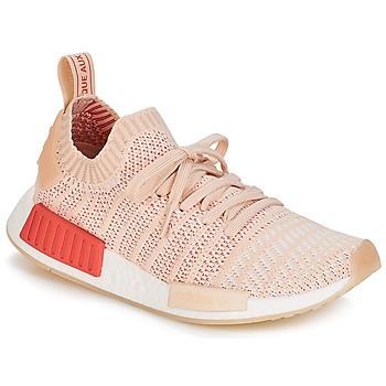 鞋子 女士 球鞋基本款 Adidas Originals 阿迪达斯三叶草 NMD R1 STLT PK W 白色